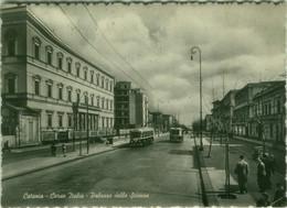 CATANIA - CORSO ITALIA - PALAZZO DELLE SCIENZE - EDIZIONE VITRO - SPEDITA 1950s (BG6272) - Catania