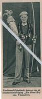 """SCHUTTERSVERENIGING ..1935.. FERDINAND GIJSELINCK KONING  """" HET GROOT HOF """" VAN VLAANDEREN - Unclassified"""