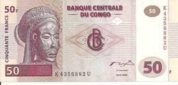 CONGO 50 FRANCS 2000 UNC P 91 - Zonder Classificatie