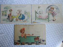 Lot 3 CPA  ENFANTS   Illustrateur JANSER - Janser