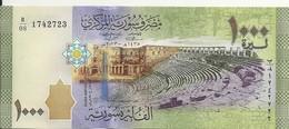 SYRIE 1000 POUNDS 2013 UNC P 116 - Siria