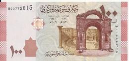 SYRIE 100 POUNDS 2009 UNC P 113 - Siria