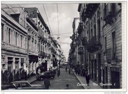 Sicilia, Catania -  Via  Umberto I - 1958 - Catania