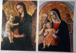 Grosseto - Museo D'Arte Sacra - Lotto 2 Cart. - Madonna Con Bambino - Grosseto
