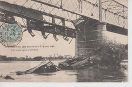 CPA Catastrophe Des Ponts-de-Cé - 4 Août 1907 - Une Heure Après L'accident - Les Ponts De Ce
