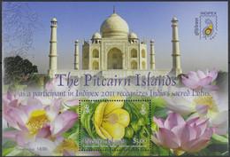 Pitcairn 2011 - Mi-Nr. Block 57 ** - MNH - Blumen / Flowers - Briefmarken