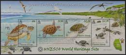 Pitcairn 2008 - Mi-Nr. Block 50 ** - MNH - Schildkröten / Turtles - Briefmarken