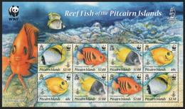 Pitcairn 2010 - Mi-Nr. 805-808 ** - MNH - Kleinbogen - Fische / Fish - Stamps