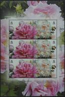 Pitcairn 2011 - Mi-Nr. 825-826 ** - MNH - KLB - Blumen / Flowers - Stamps