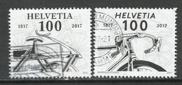 Zwitserland, 2017, Mi 2480-81  Reeks,  Gestempeld - Used Stamps