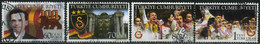 Turkey 2005 - Mi. 3479-82A O, 100th Anniversary Of Galatasaray | Football (Soccer) | Sports | Sports Clubs - Used Stamps