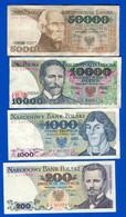 Pologne  8  Billets - Polonia