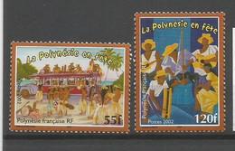 Timbre De Polynésie Française Neuf ** N 680/681 - Nuovi