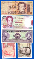 Venezuela  12  Billets - Venezuela