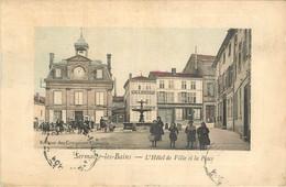 D 51 - SERMAIZE Les BAINS - L' Hotel De Ville Et La Place -  - BEAU 6849 - Sermaize-les-Bains
