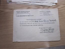 NSDAP Hitler Jugend Bann Gross Gerau  HUff Signatures M Hauptgruppenfuhrerin 1943 - 1939-45