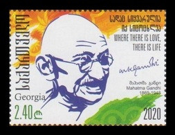 Georgia 2020 Mih. 740 Mahatma Gandhi MNH ** - Georgia