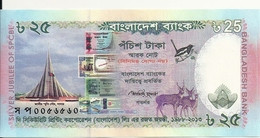 BANGLADESH 25 TAKA 2013 UNC P 62 - Bangladesh