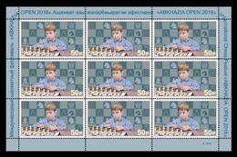Abkhazia 2018 Mih. 979 International Chess Festival Abkazia Open (M/S) MNH ** - Georgia