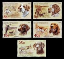 Abkhazia 2019 Mih. 983/87 Fauna. Dogs MNH ** - Georgia