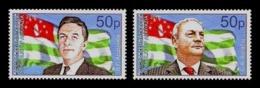 Abkhazia 2019 Mih. 1000/01 Presidents Of Abkazia Vladislav Ardzinba And Sergei Bagapsh MNH ** - Georgia