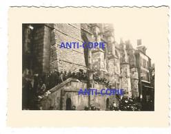 WW2 PHOTO ORIGINALE ALLEMANDE Prisonnier De Guerre Français PG à SEZANNE P. Epernay 51 MARNE N°2 - 1939-45