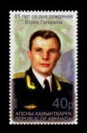 Abkhazia 2019 Mih. 1002 Space. Yuri Gagarin MNH ** - Georgia