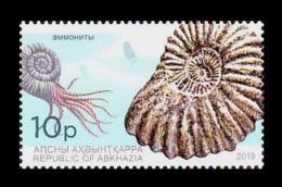 Abkhazia 2019 Mih. 1003 Fauna. Extinct Marine Mollusc Animals. Ammonoids MNH ** - Georgia