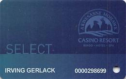 Akwesasne Mohawk Casino - Hogansburg NY - Slot Card - Carte Di Casinò