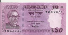 BANGLADESH 10 TAKA 2012 UNC P 54 - Bangladesh
