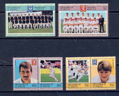 Bequia Grenadines Of St. Vincent 286 Série Sport Cricket Famous Players MNH ** - Cricket