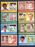 Bequia Grenadines Of St. Vincent - 284 N° 315/30 Série Sport Cricket Famous Players Cote 13 Euros MNH ** - Cricket