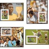 Guyane (guyana) 304 - Série S Non émis Italia 90 Football (Soccer) Coupe Du Monde Cote 10 Euros ** MNH - 1990 – Italia