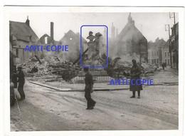 WW2 PHOTO ORIGINALE Soldats Allemands à VILLENAUXE LA GRANDE P. Nogent Sur Seine 10 AUBE 1940 - 1939-45