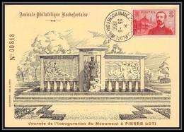 0085/ Carte Maximum (card) France N°353 Pierre Loti 25/6/1950 - 1930-39