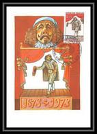 2880/ Carte Maximum (card) France N°1771 Mort De Molière - 1970-79