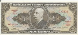 BRESIL 5 CRUZEIROS ND1953-59 UNC P 158 C - Brasil