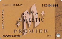 Majestic Star Casino - Gary, IN USA - 10th Issue Premier Slot Card - Carte Di Casinò