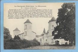 St-Maurice-de-Satonnay Château 2scans Musy Frontignat Fontanès La Vallette-en-Forez Channorier Bletonnière Veyssière Igé - Other Municipalities