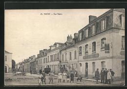 CPA Yvetot, Hotel De L`Aigle D`Or, Rue Thiers - Yvetot