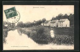 CPA Senones, Vue Partielle Am Fluss - Senones