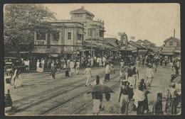 PETAH Colombo Ceylon Sri Lanka, Main Street, Tramway Old Postcard (see Sales Conditions) 02780 - Sri Lanka (Ceylon)