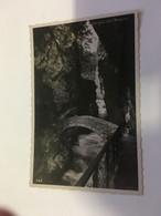 (P 21) Very Old Postcard - France - Bridge - Pont A Gorge De L'Areuse - Puentes