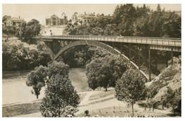 (P 21) Very Old Postcard - New Zealand - Hamilton Bridge - Neuseeland