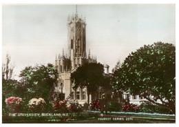(P 21) Very Old Postcard - New Zealand - University Of Auckland - Neuseeland