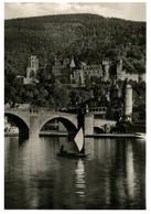 (P 21) Very Old Postcard - Germany - Heidelburg (With Bridge) - Puentes