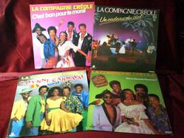 LA  COMPAGNIE  CREOLE  ° COLLECTION DE 10 VINYLES DIFFERENTS - Volledige Verzamelingen
