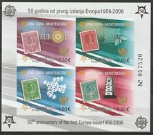 Montenegro 2006 Sc 129E  Europa S/S MNH Imperf - Montenegro
