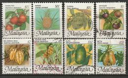 Malaysia 1986 Sc 329-36  Set Used - Malaysia (1964-...)