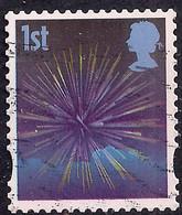 GB 2008 QE2 1st Smilers Fireworks Used 4th Series SG 2823 ( T348 ) - 1952-.... (Elizabeth II)